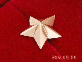 Маленькая золотая звезда_фото