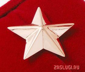 Большая (майорская) золотая звезда_фото