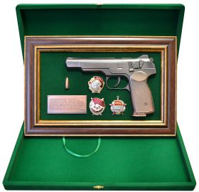 Особенностью пистолета является возможность вести из него огонь одиночными выстрелами, так и в режиме автоматического огня.