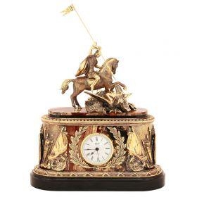 Подарочные интерьерные часы Георгий Победоносец